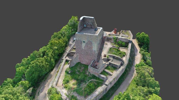 Oberburg Kyffhäuser 3D Model