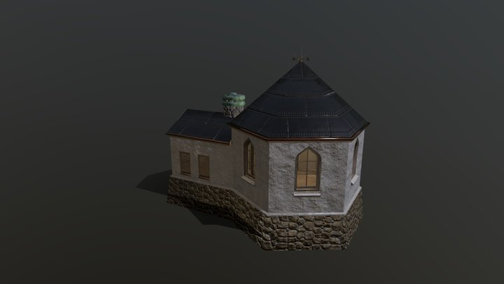 Branntårnet i Arendal 3D Model