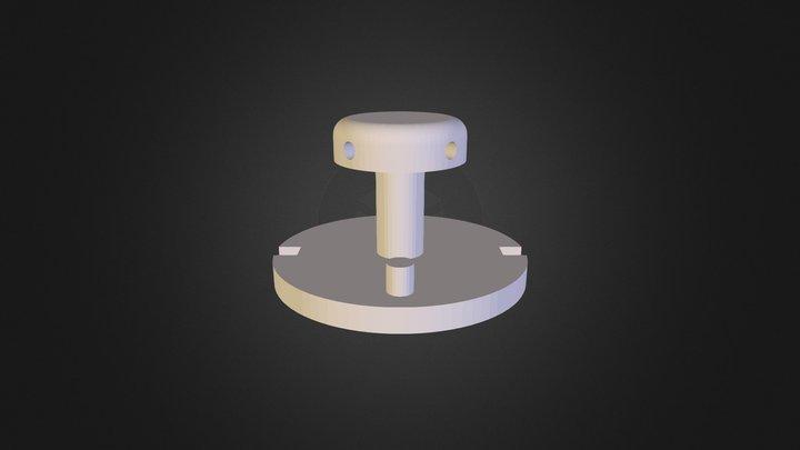 Center Axle 3D Model