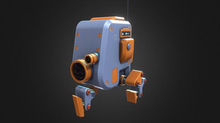 - Wifi Robot - 3D Model
