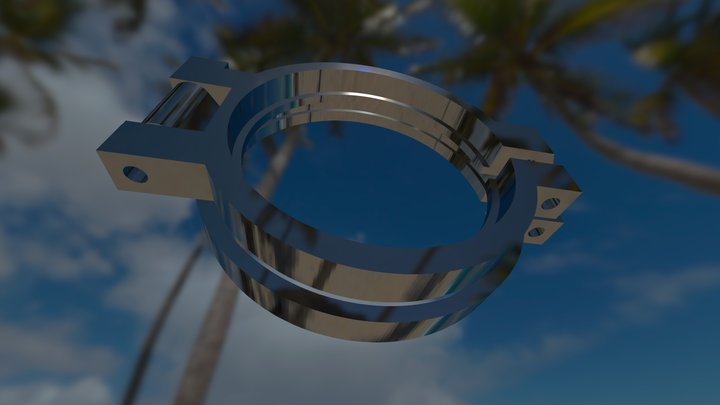 Nauticam75mm_V6_Diopter 3D Model