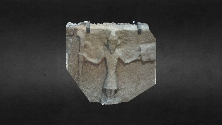 The Bishops Stone - Aghalurcher 3D Model