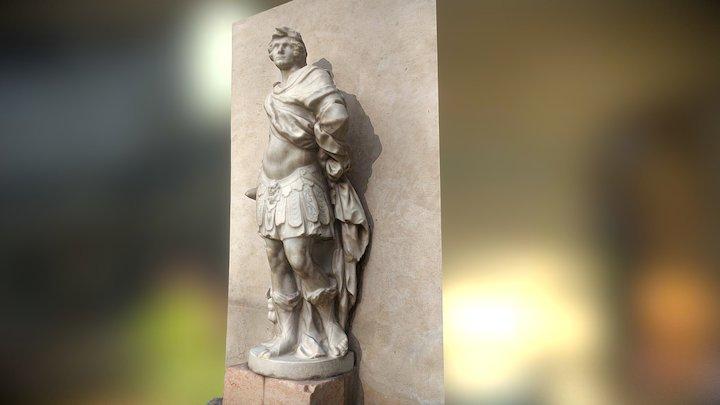 Statue by Orazio Marinali 3D Model