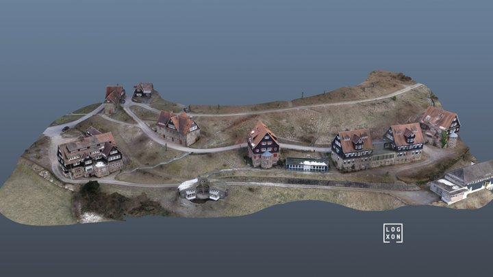 Odenwaldschule - Heute: Wohnpark Ober-Hambach 3D Model