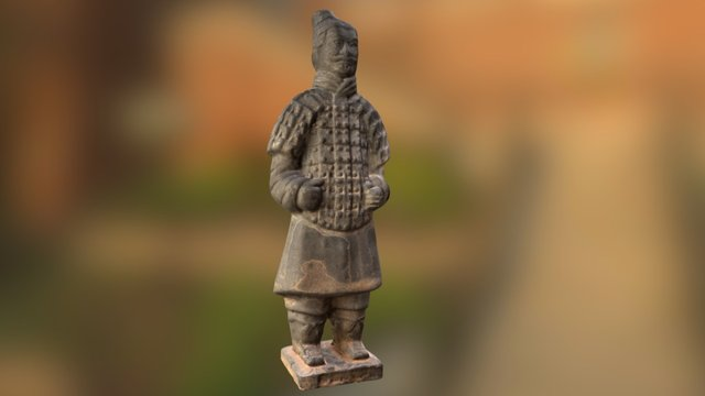 Terracotta Soldier Photogrammetric Model Test 3D Model