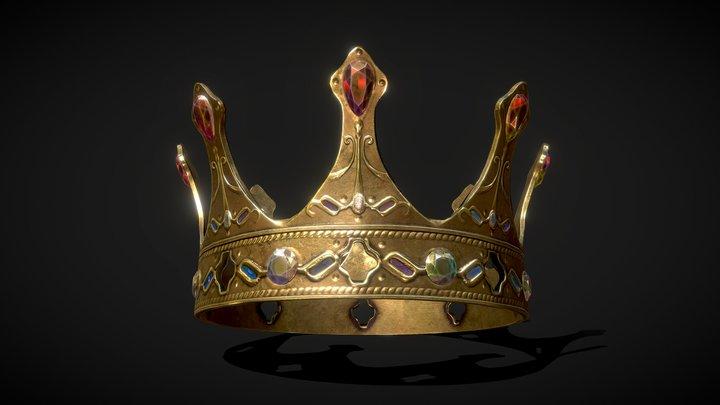 Crown LP 3D Model