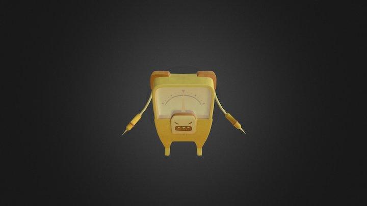 Tester 3D Model