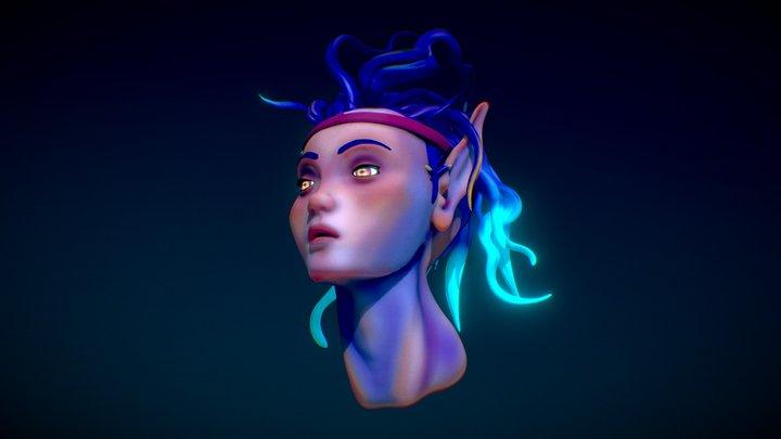 Elf 3D Model