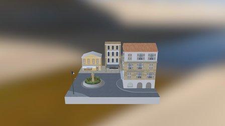 1DAE16_Bonnarens_Jens_CityScene 2016-2017 3D Model