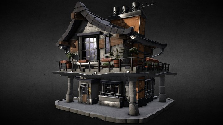 House_03_PBR 3D Model