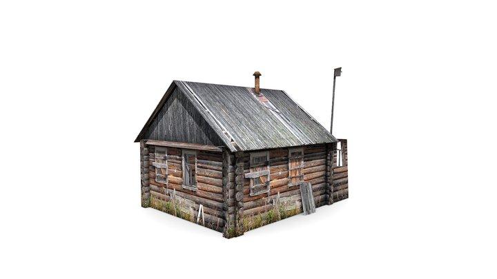 Abandoned village house 3D Model