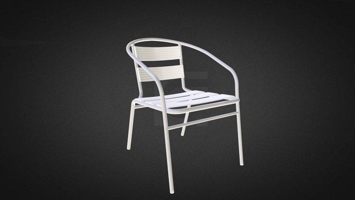 Aluminium Chair Hire 3D Model
