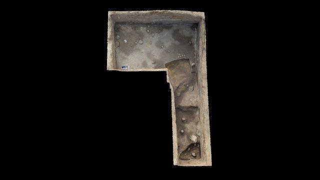 Bronze Age Excavation Layer 3D test1 3D Model
