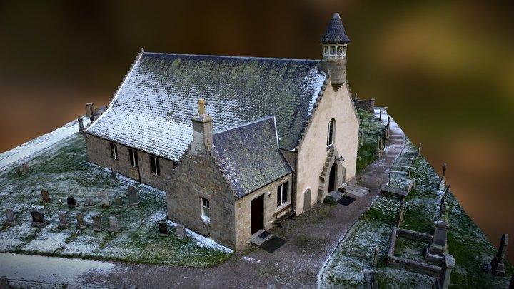 Abernethy Old Kirk Nethybridge 3D Model