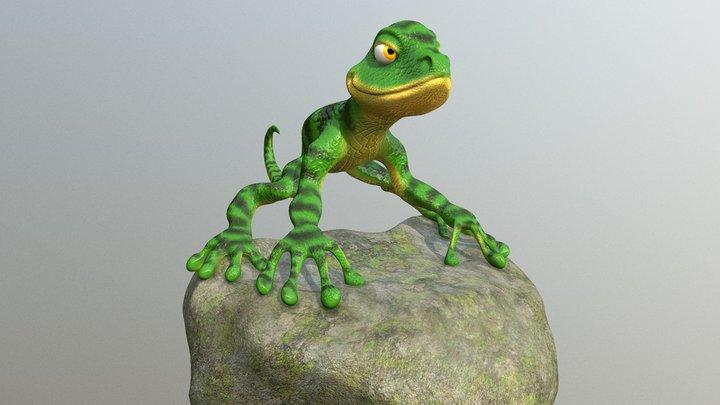 Lagarto 3D Model