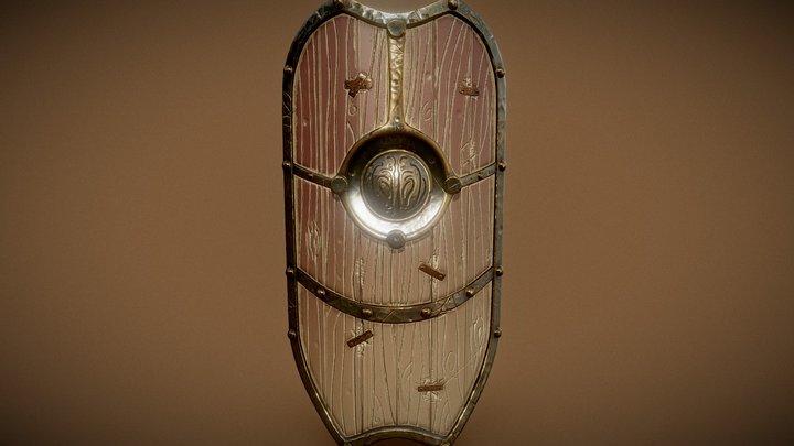 Tower Shield (Stylized Shield) 3D Model