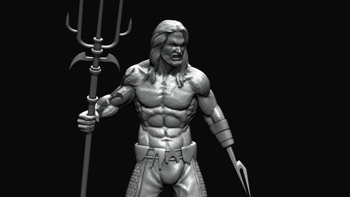 Aquaman 3D Model