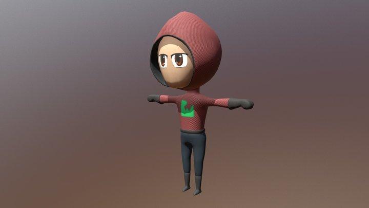 Chibi Human 3D Model