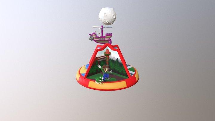 Odyssey Let's See 3D Model