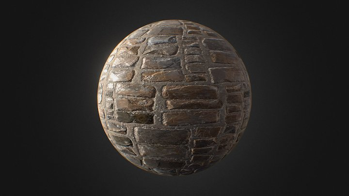 Substance Designer Bricks 3D Model