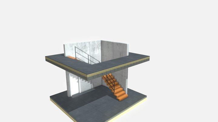 Treppe 3D Model