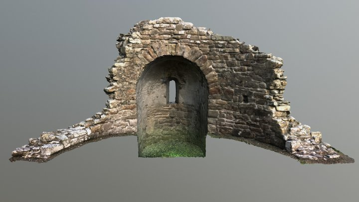 St. Nicholas Kirk, Orphir, Orkney 3D Model
