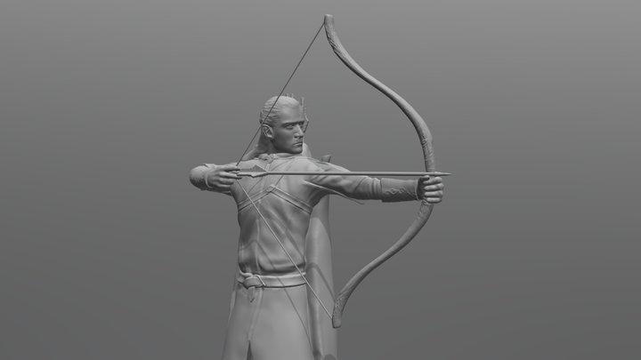 Legolas for 3D printing 3D Model