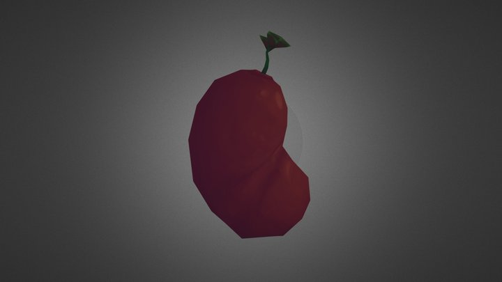 Bean 3D Model