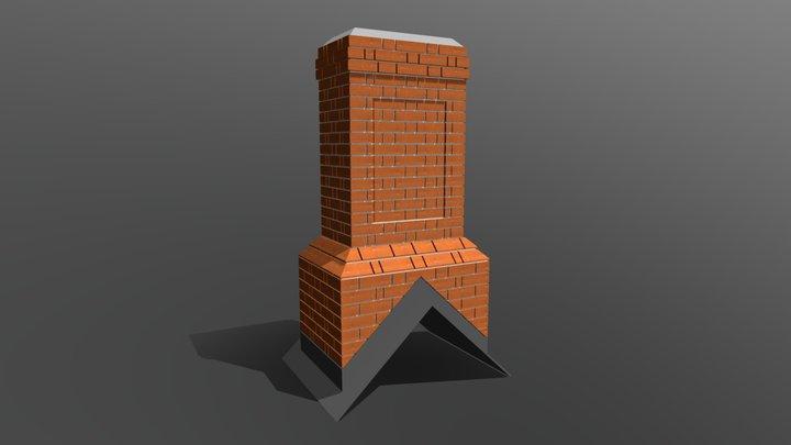 Bespoke Fibreglass Chimney 3D Model