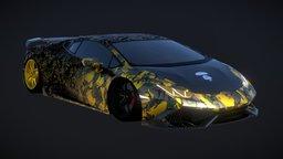 Lamborghini Huracan Mansory - AAPE 3D Model