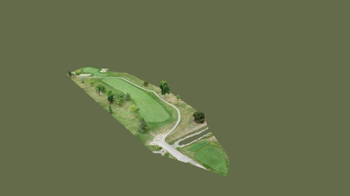 St. Clair Shores Golf Course - Hole #17 3D Model