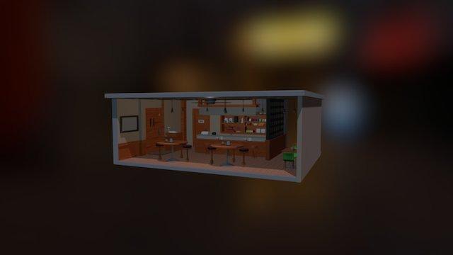 Anteiku 3D Model