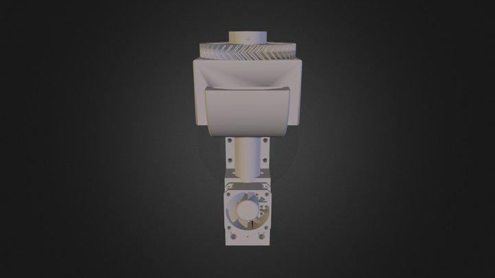 Pellet Extruder 3D Model