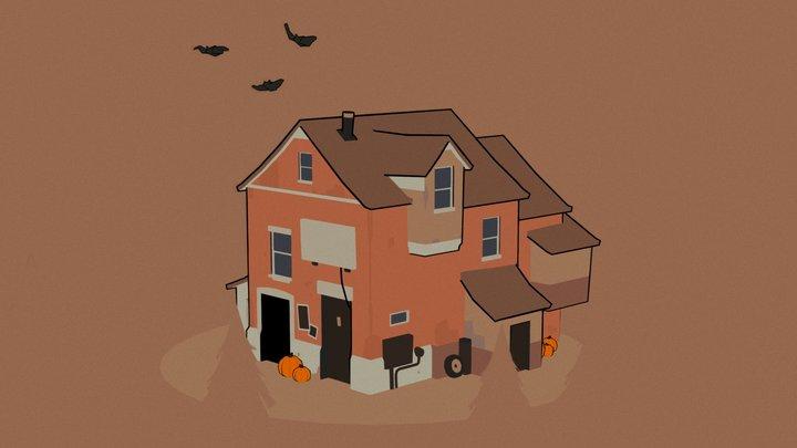 Spoopy House 3D Model