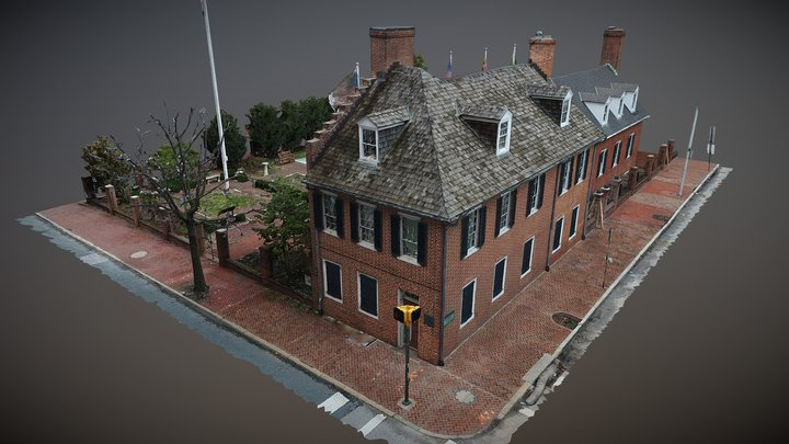 Star Spangled Banner House - Baltimore 3D Model