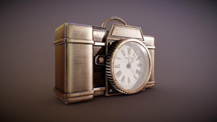 Steampunk Pocket Watch 3D Model
