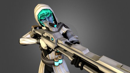 "[Energy Heroes] Veileone skin ""The Prince"" 3D Model"