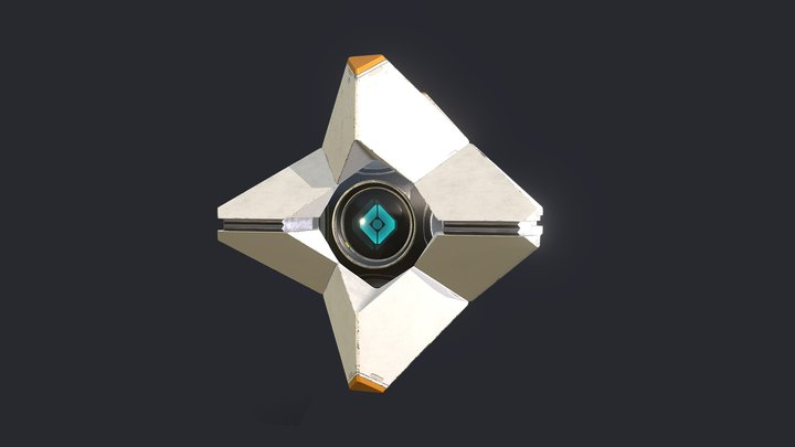 Destiny - Ghost 3D Model