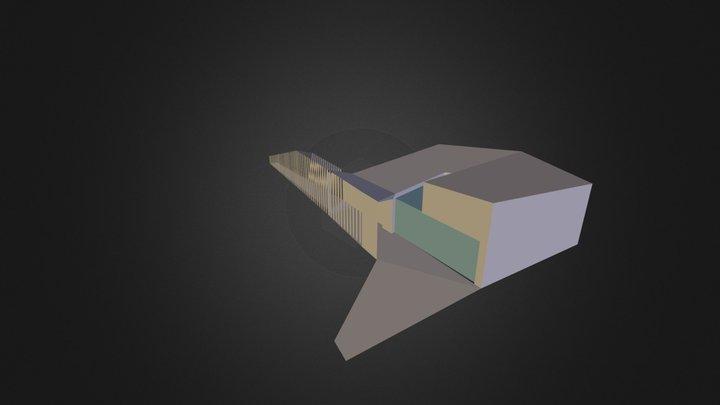 Epulet B1 3D Model
