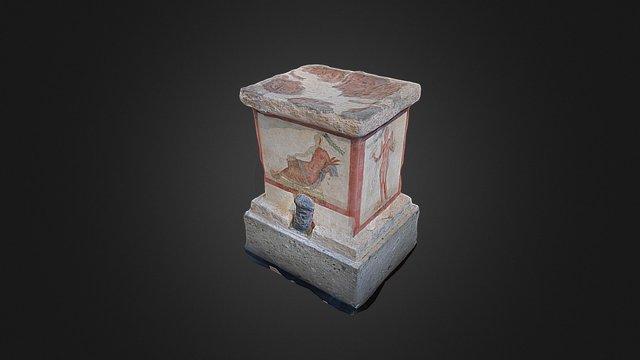 Altare dipinto 3D Model