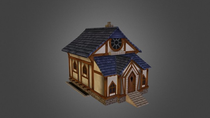 TudorHouse_V3 3D Model