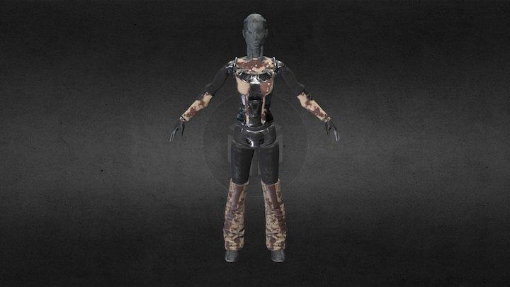 cyborgGirl 3D Model