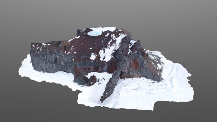 Markham Island, Silverfish Bay, Antarctica 3D Model