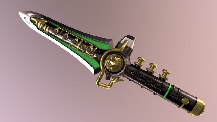 Dragon Dagger 3D Model