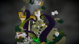 The Fall of the Ivory Kingdom 3D Model