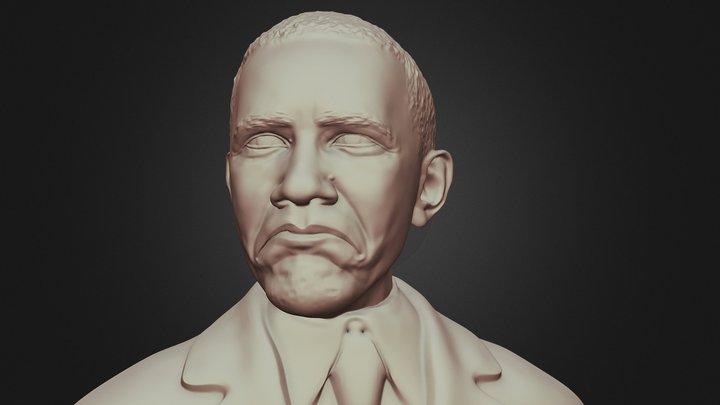 "Obama ""Not Bad"" meme 3D printable model 3D Model"