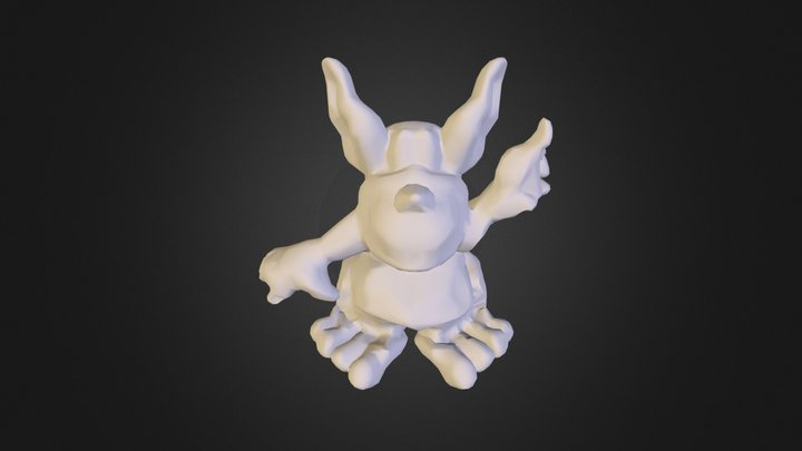 ToadieDistortion 3D Model