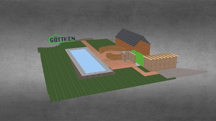 Bestellung Guyana Teak B B 3D Model