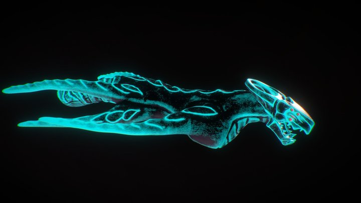 Moon Harvest - Leviathan 3D Model