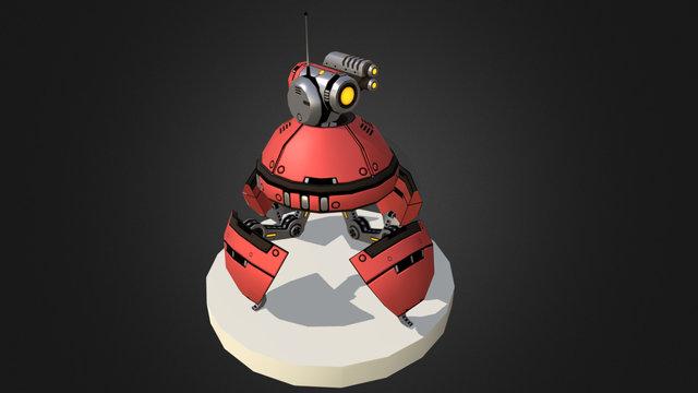 Bad Bots: Walker 3D Model